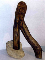 sculpture originale en bois
